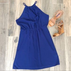 Zara Basic Halter Neck Dress - M